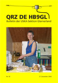 QRZ de HB9GL, Nr. 30 vom 27.12.2004