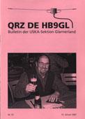 QRZ de HB9GL, Nr. 33 vom 15.1.2007