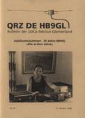QRZ de HB9GL, Nr. 35 vom 15.10.2008 (Jubiläumsnummer)